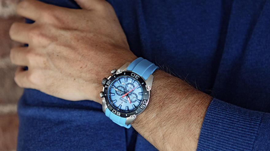 The first watch sold with Bitcoin is a Festina Chromo Bike