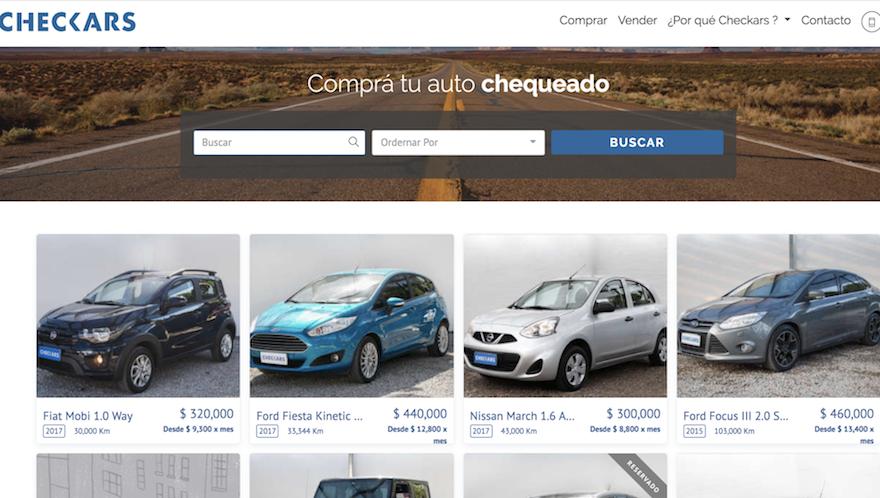 La plataforma busca entregar transparencia a la compra-venta de vehículos usados.