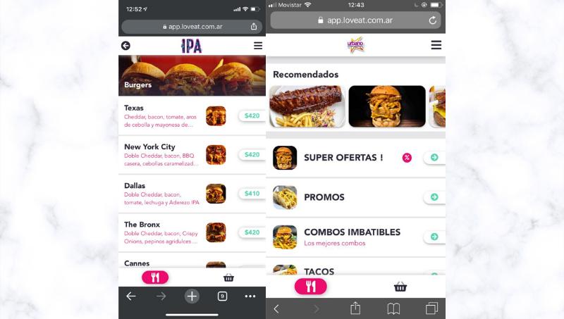 Imagen del la app