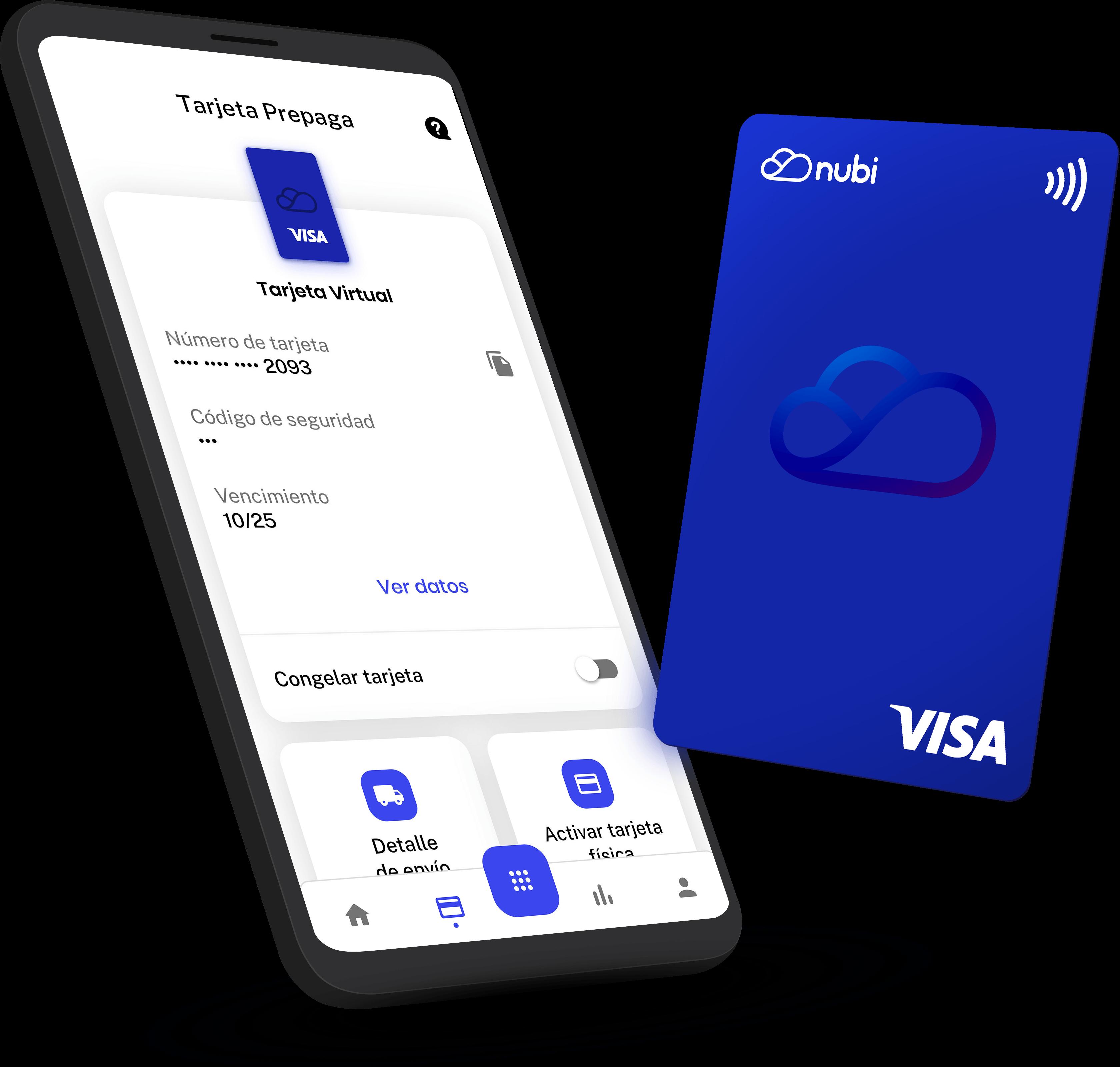 La Nubi Cuenta se podrá cargar desde una cuenta bancaria (CBU) o virtual (CVU) y también con efectivo, mediante los locales de Rapipago