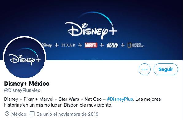 Tuis de confirmación por la cuenta oficial de Disney Mexico