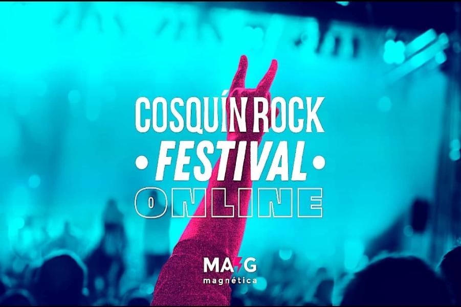 Cosquín Rock 2020 vía streaming