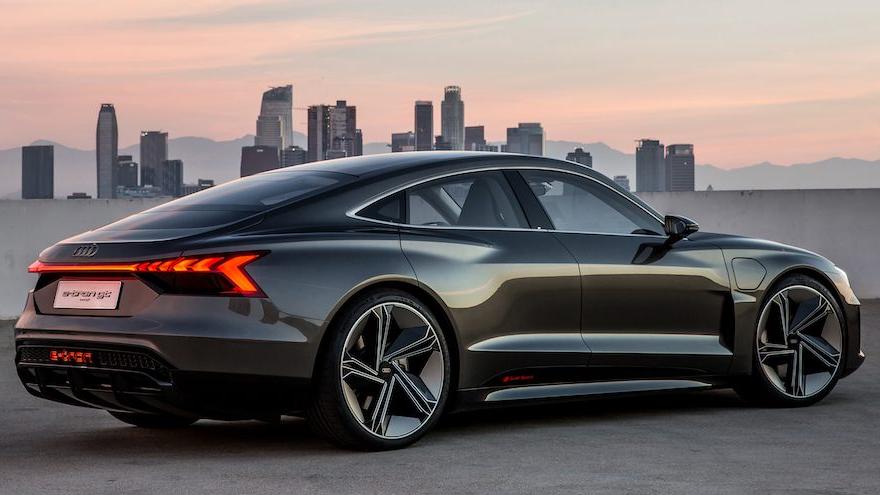 Audi E-Tron, un modelo 100% eléctrico.