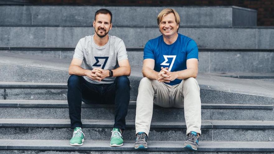 Taavet Hinrikus y Kristo Käärmann,fundadores de TransferWise