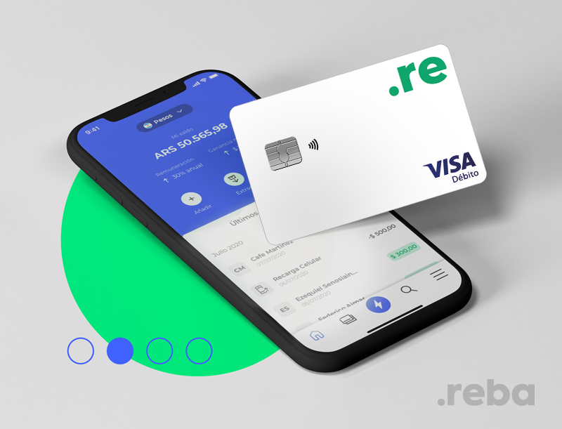 El último lanzamiento de Reba es la tarjeta de débito física y virtual